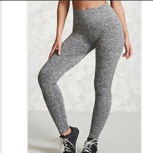 Forever 21 grey workout leggings